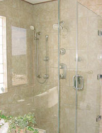 frameless shower systems